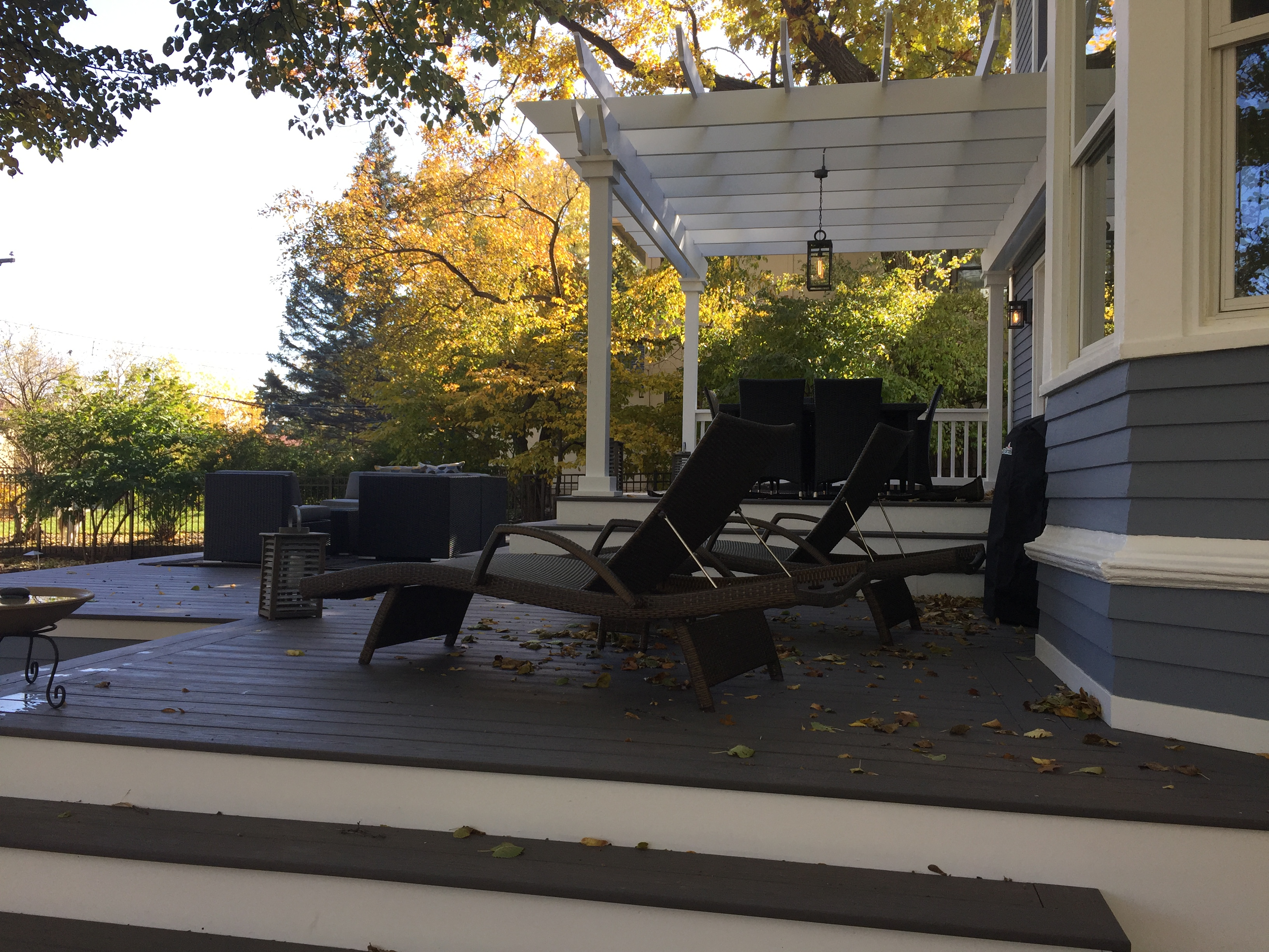 Pergola Deck Azek Minneapolis