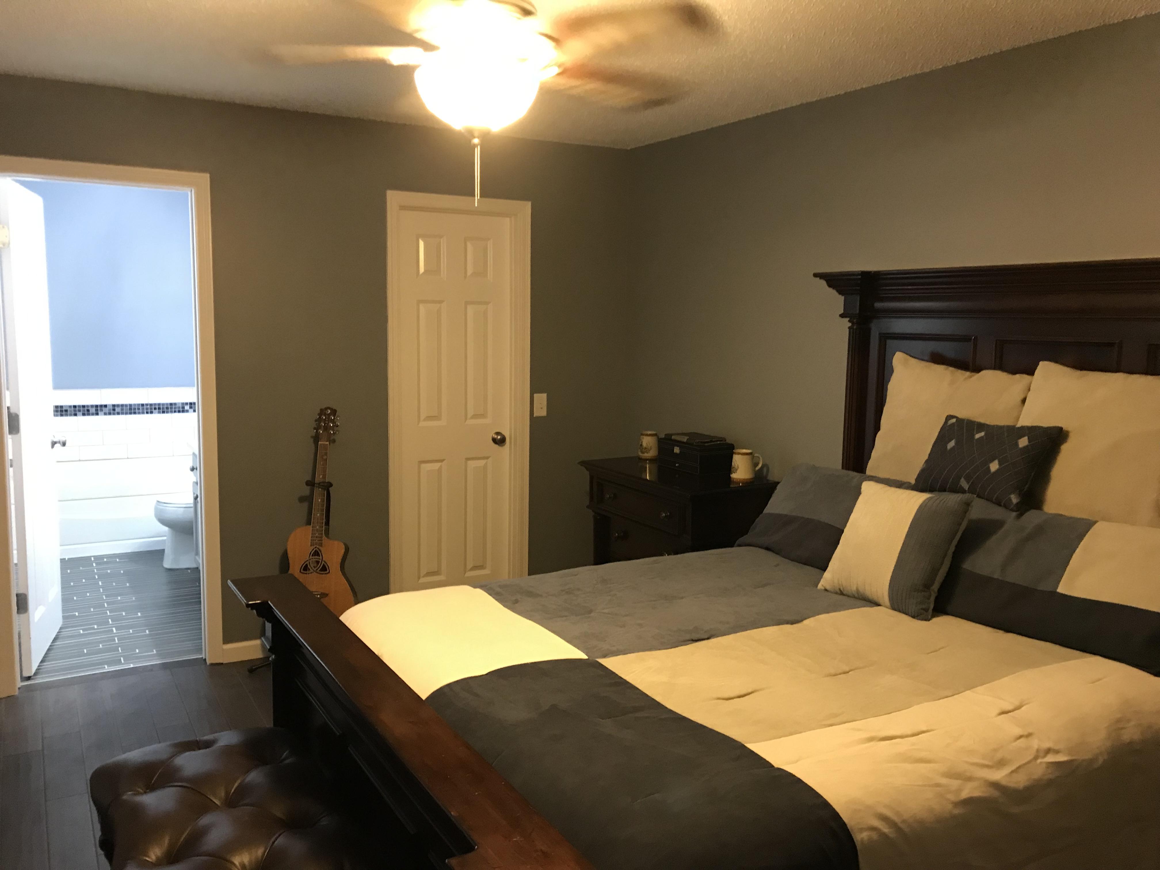 Bedroom Paint LVT Light Tixture