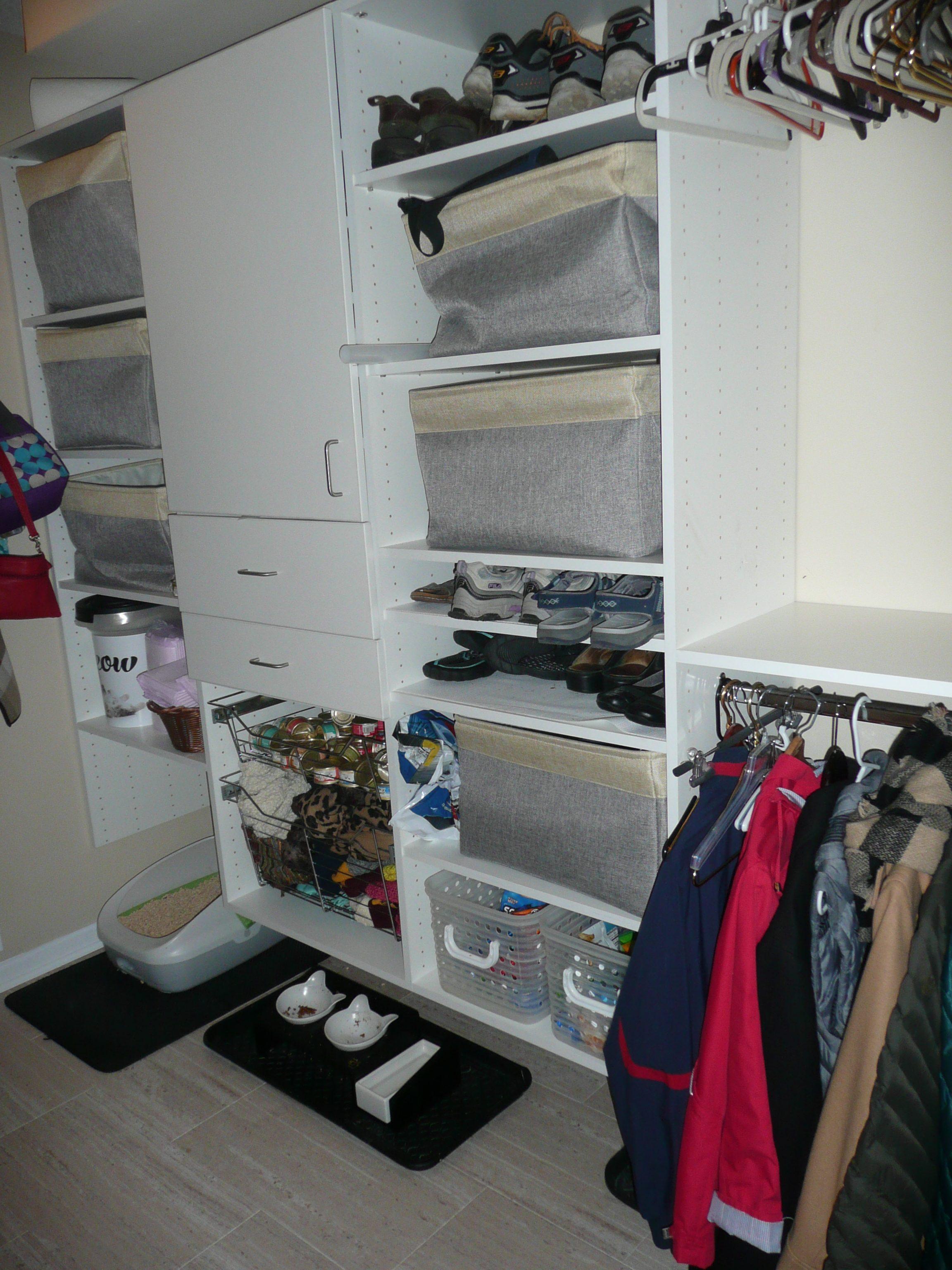 Melamine Closet Organizer