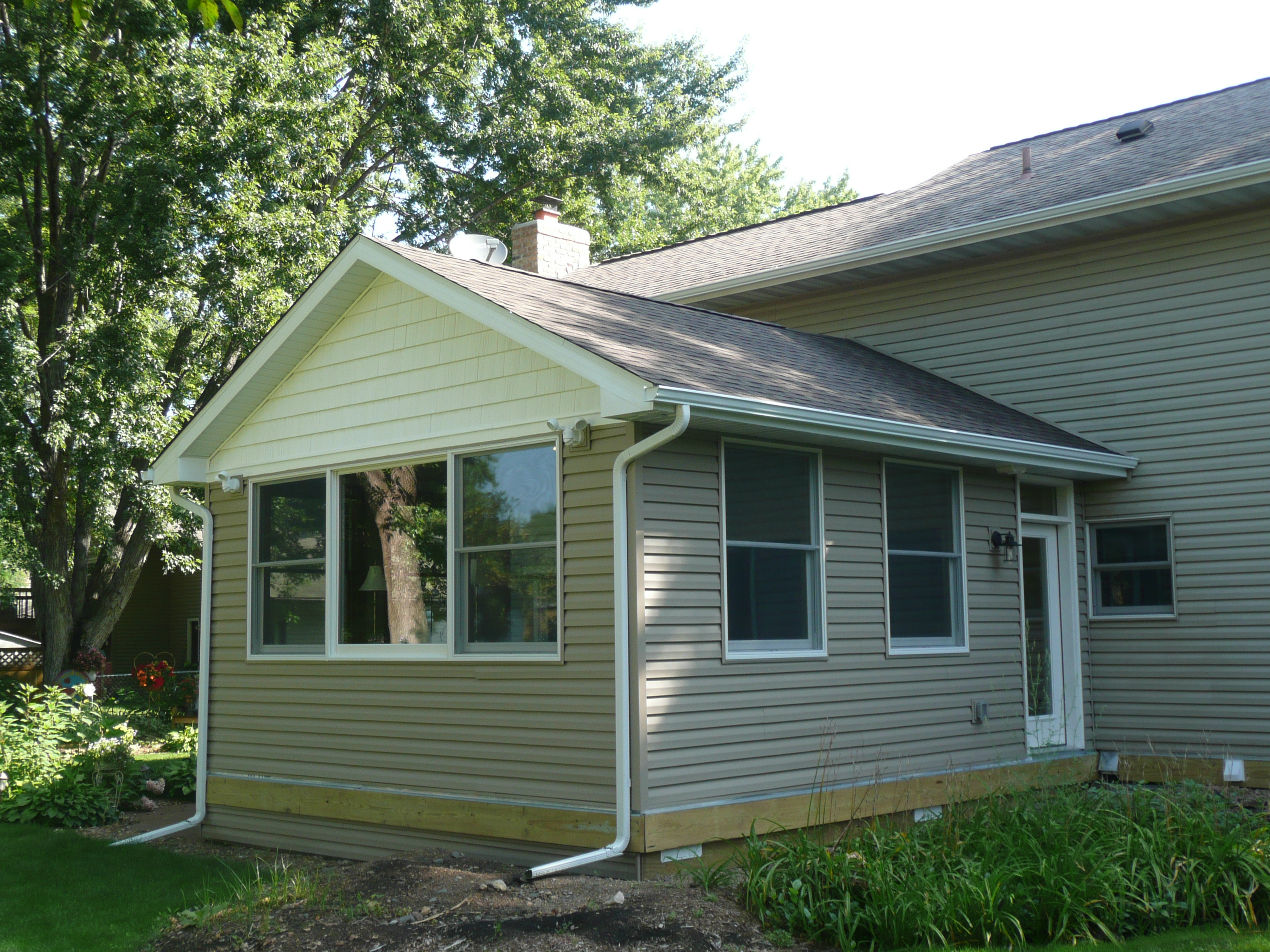 House Addition Windows Siding