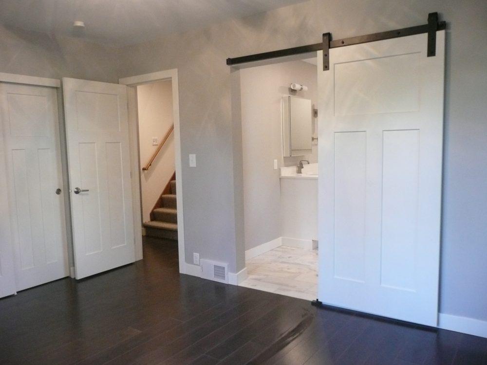 Barn Door Master Bathroom
