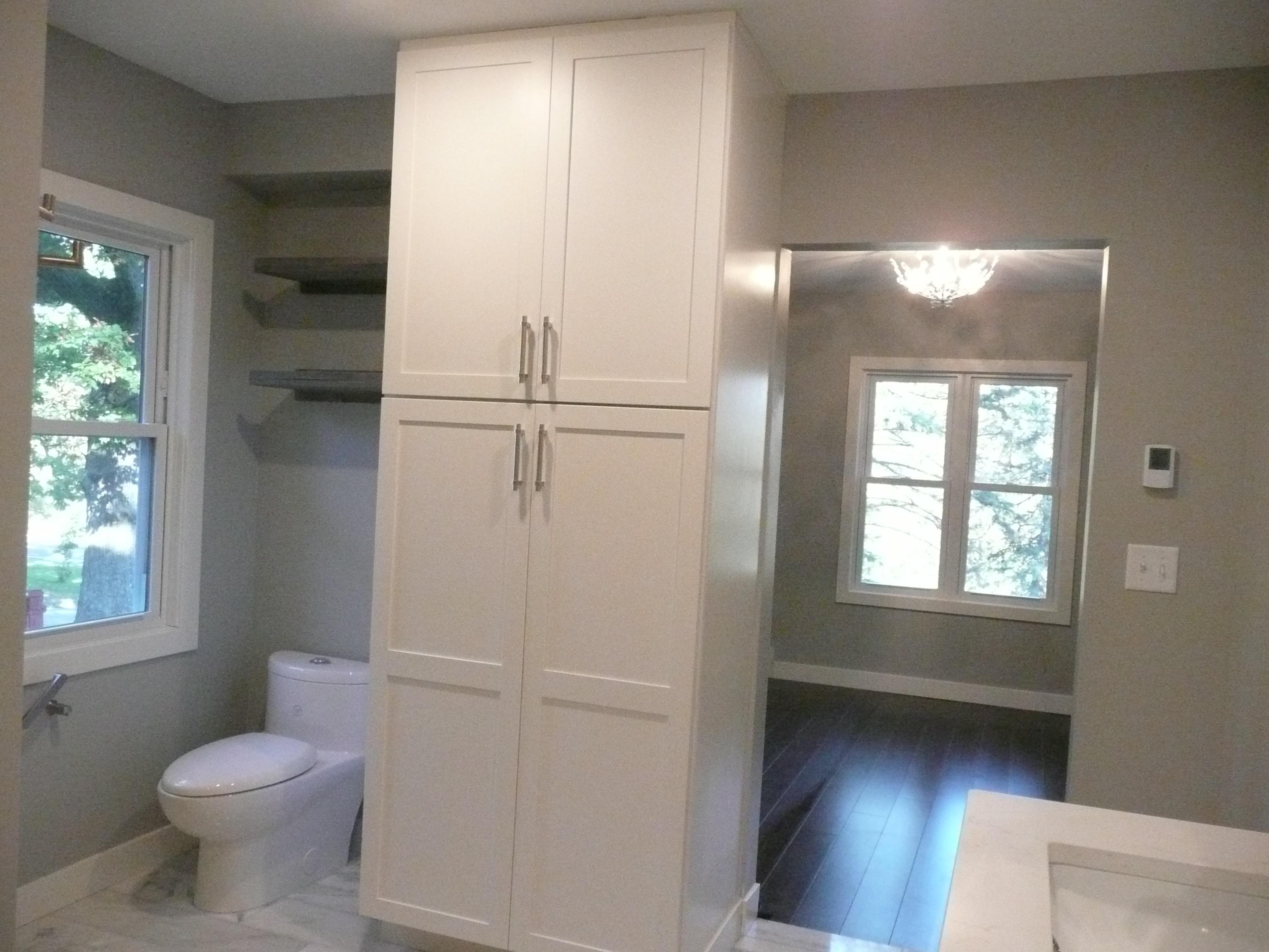 Closet Cabinet Toilet Master Bathroom