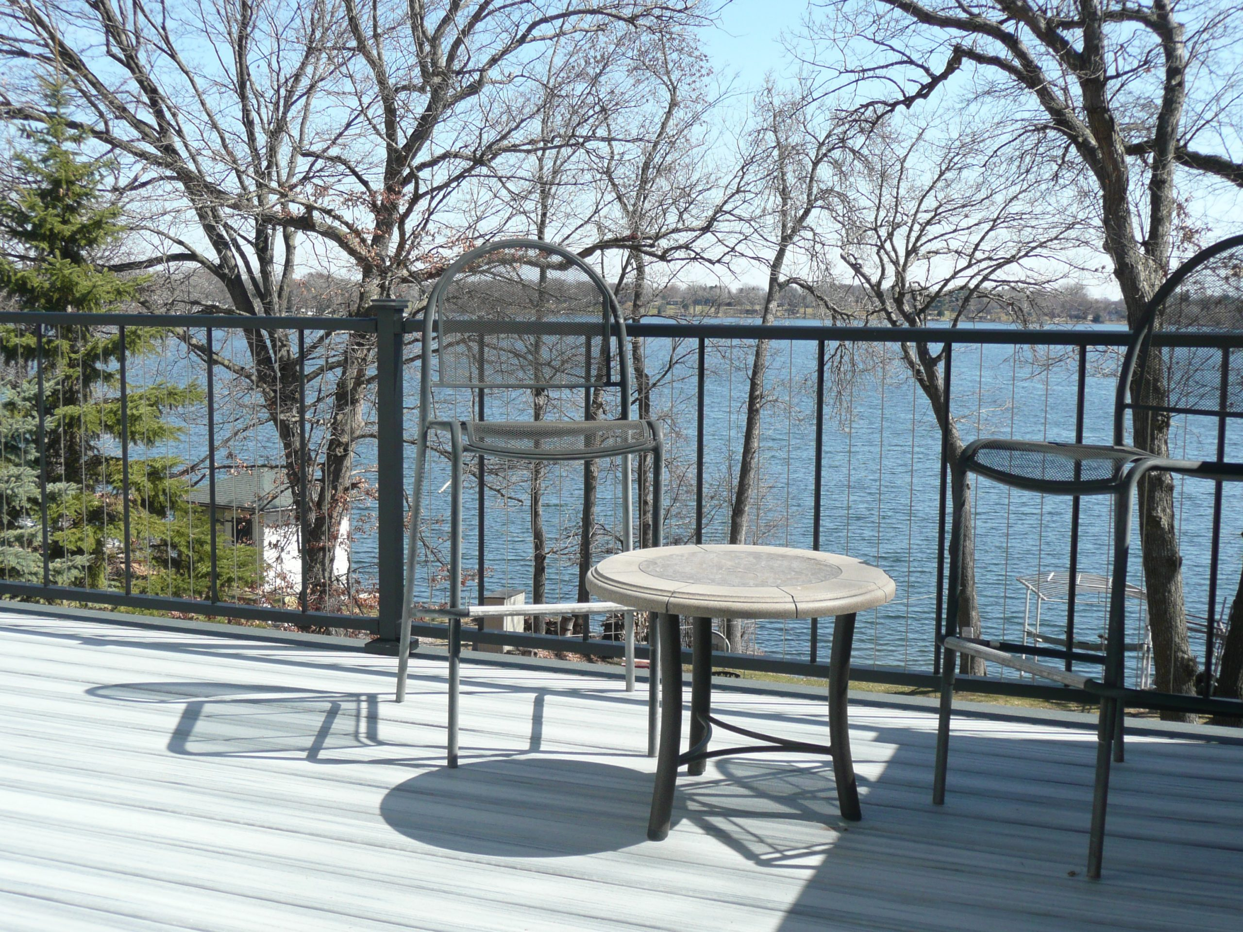 Deck on Waterfront MN