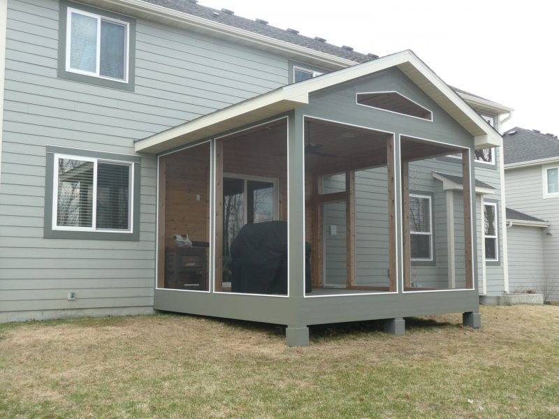 screened porch Twin Cities
