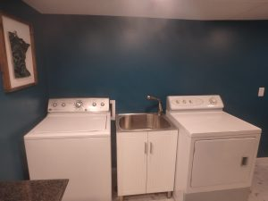 Laundry Room Washer Dryer Sink