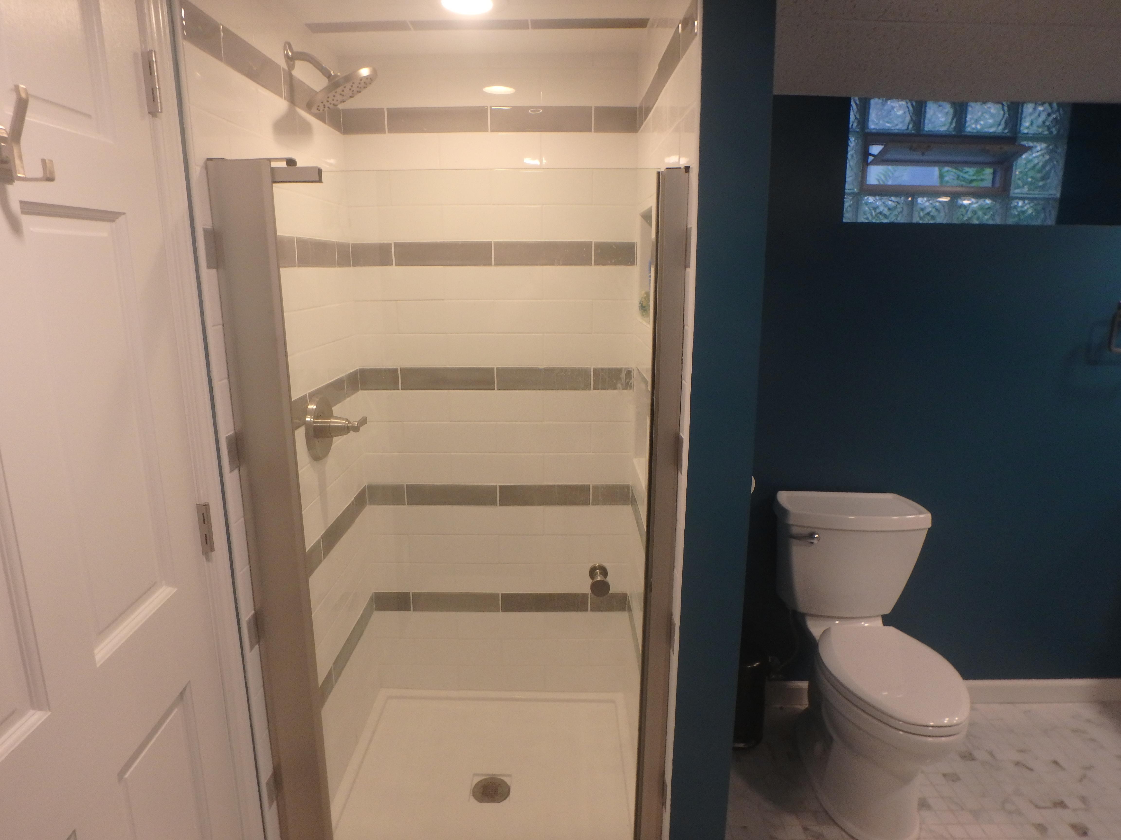 Tile Shower Remodeling