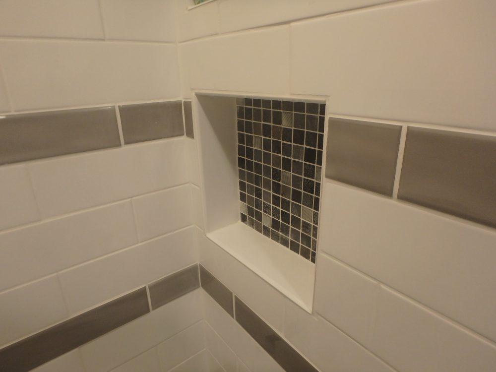 Shampoo Ledge Shower Remodeling