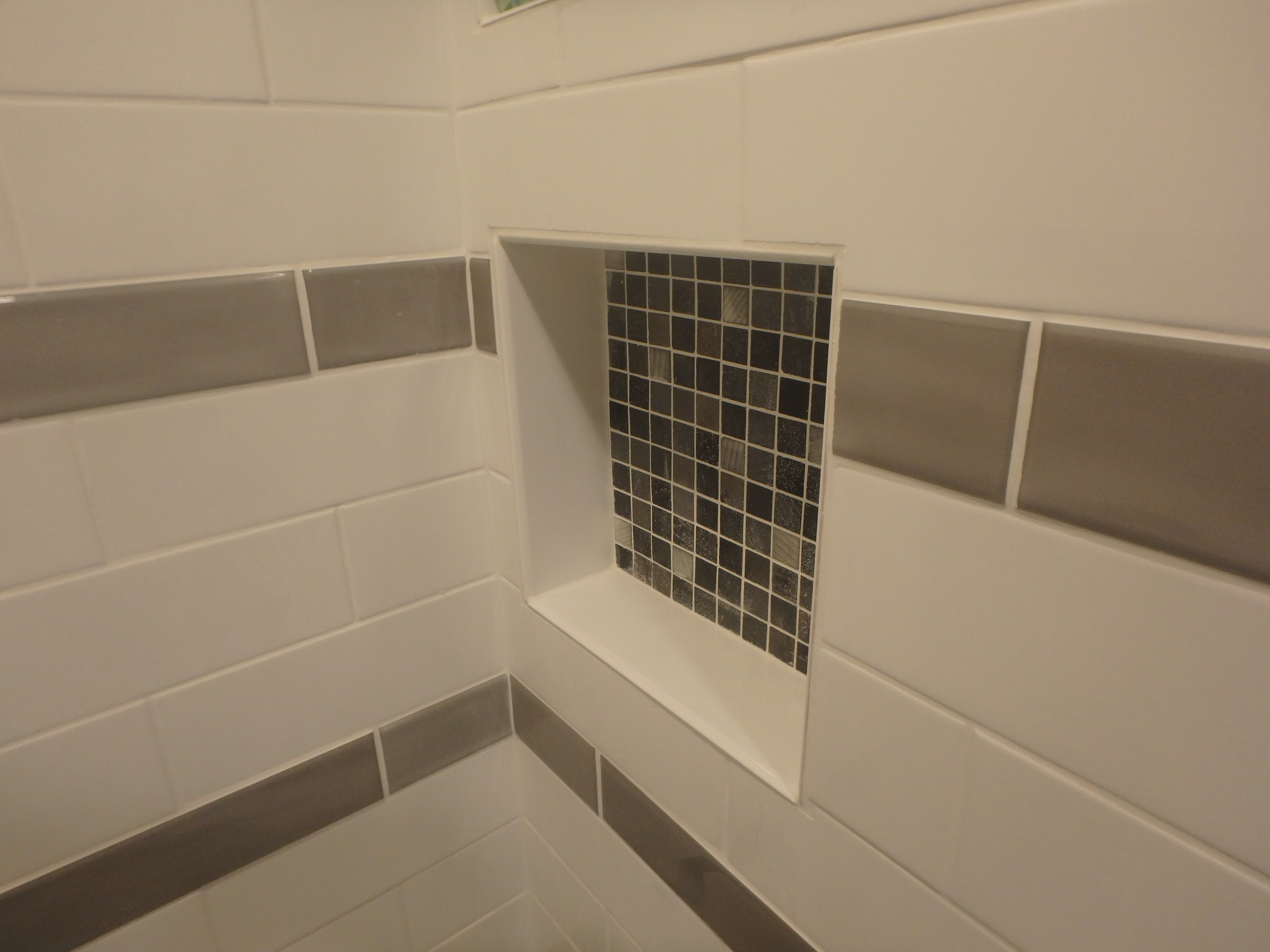 Shampoo Ledge Shower Remodeling