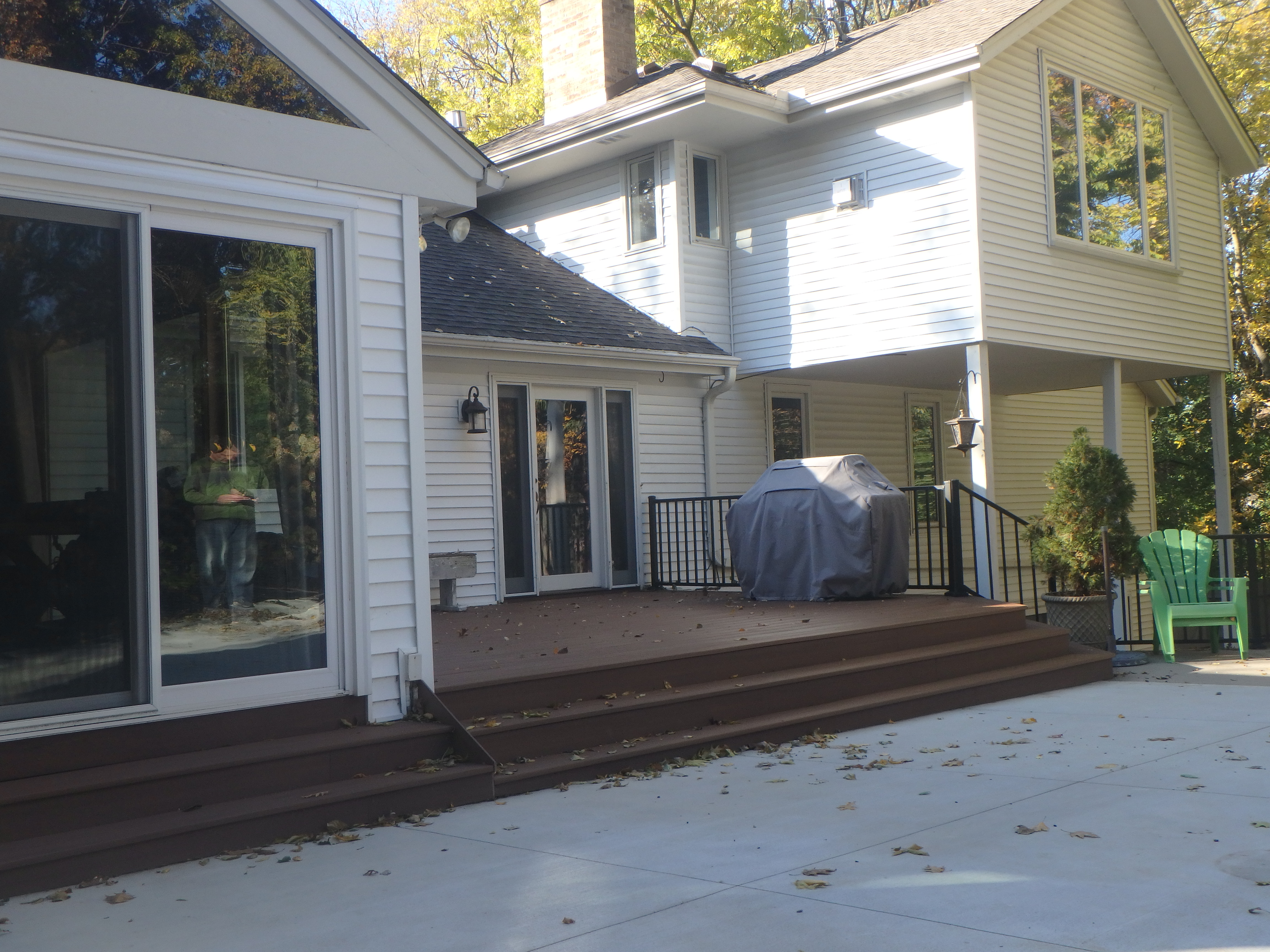 Azek Deck Westbury Railing Bloomington MN